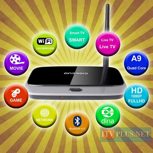 Android Box Mini PC Q7 Android TV Box Quad Core RAM 2G