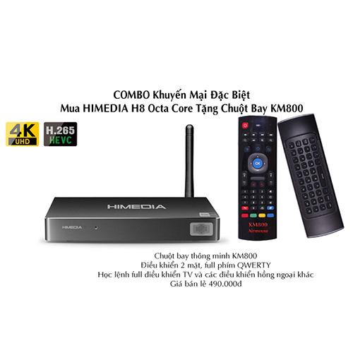 HiMedia H8 Octa Core Chính Hãng Giá Rẻ